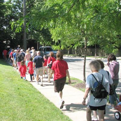 In Their Path! Walk Celebration