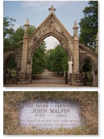 John Malvin Burial