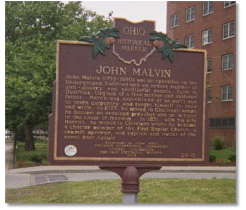 John Malvin Historical Marker